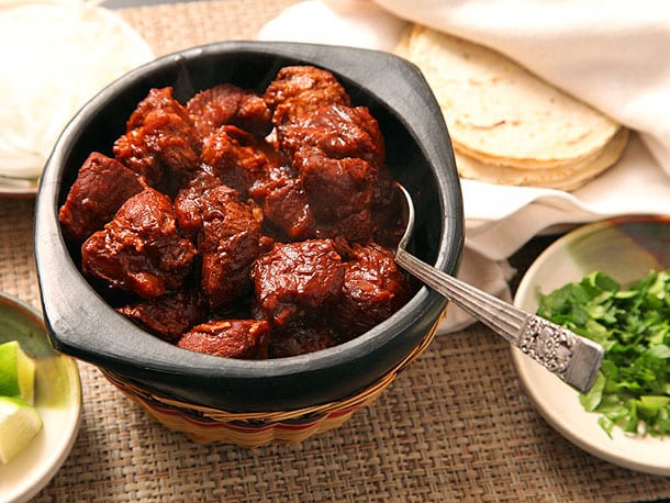 Carne Adovada Recipe - New Mexican Cuisine - Red Chile Braised Pork
